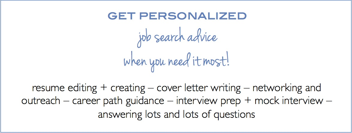 job search advice expert