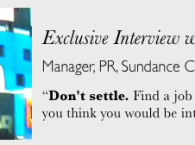 Career advice from a PR Manager
