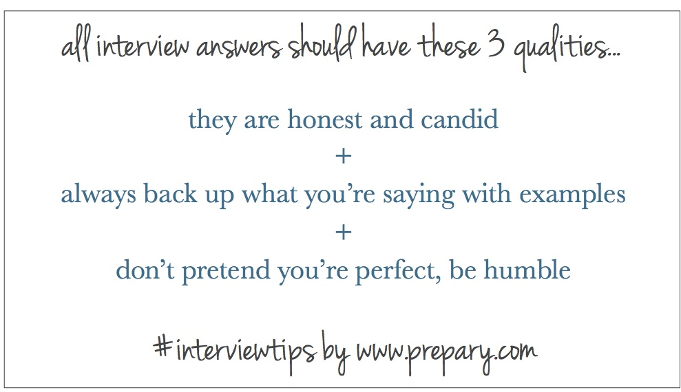 Charming They ... Inside Best Interview Answers