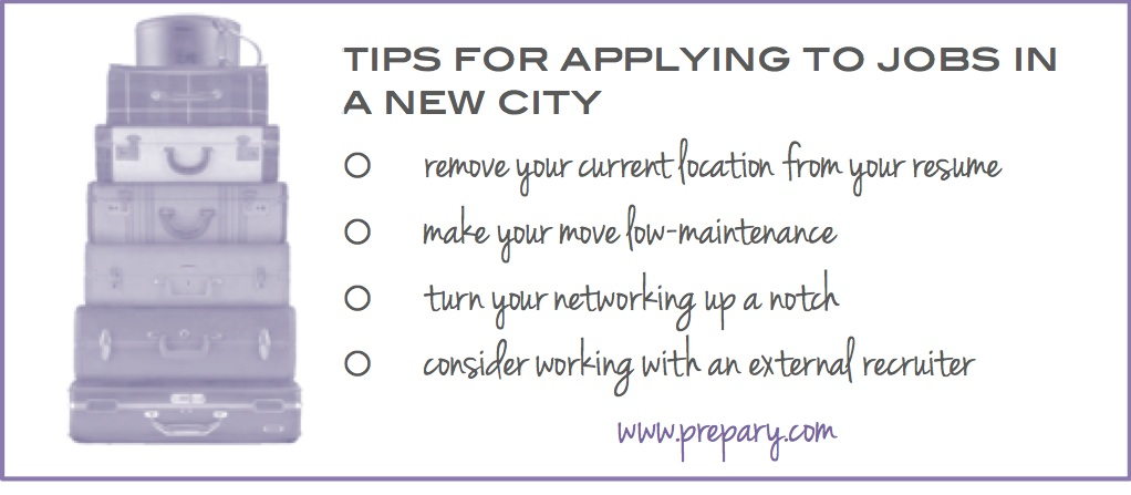 Tips for applying for jobs in another city The Prepary The Prepary