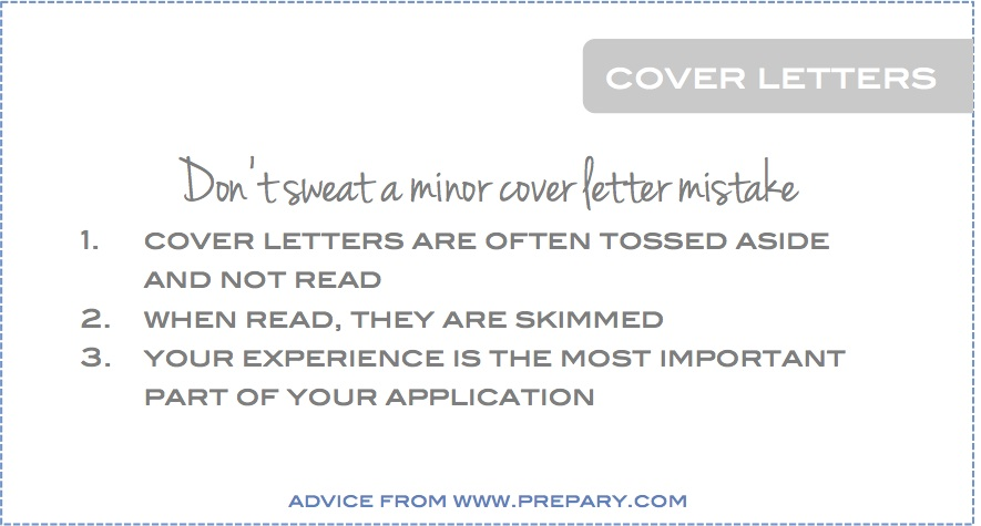 Cover Letter Mistakes - Are They A Dealbreaker? - The Prepary