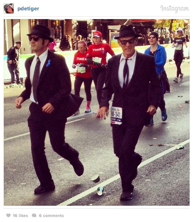 blues brothers nyc marathon