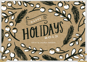 Image courtesy of minted.com, an amazing site for holiday (and other) cards