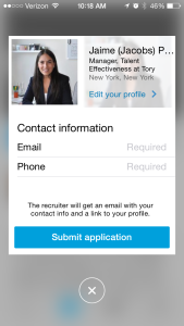 LinkedIn Job Search App 4