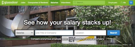 glassdoor salaries