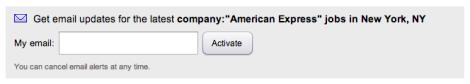job alert - company - indeed
