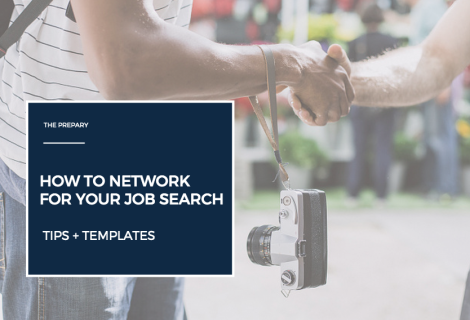 networking in your job search - templates
