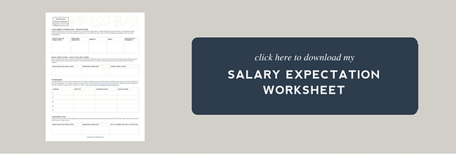 how to figure out your salary expectations the prepary