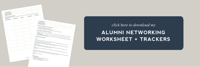 How to leverage alumni in the job search Complete guide The – Job Search Worksheet