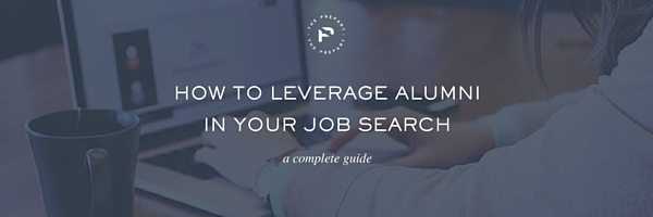 leverage alumni in the job search linkedin