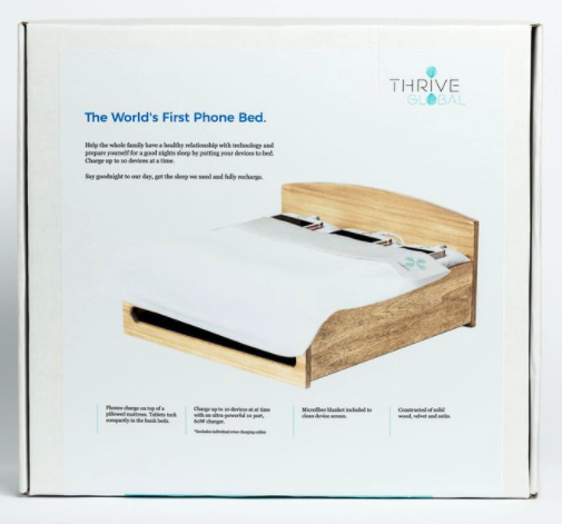 phone bed