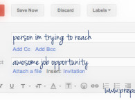 How to email someone you don't know about a job