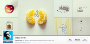 instagram from everyday objects