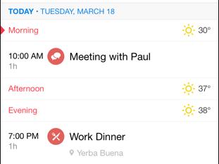 sunrise app icons