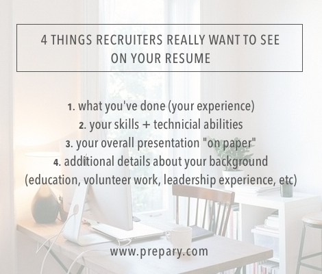 5-28-14 - What recruiters really want to see on your resume