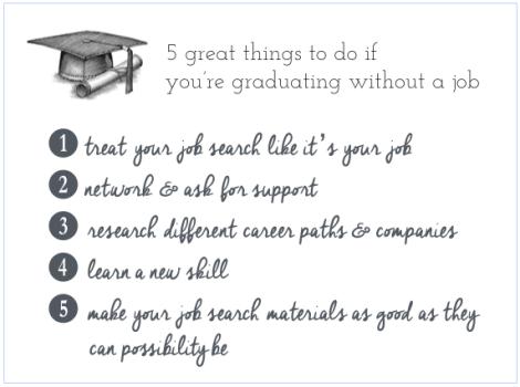 graduating without a job