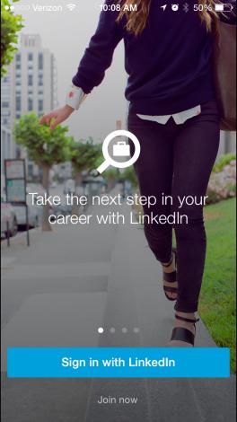 LinkedIn Job Seeker App 1