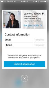 LinkedIn Job Search App 4