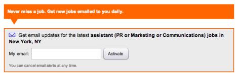job alert from indeed