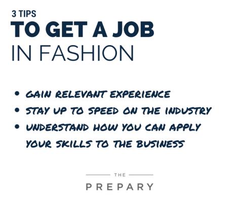 10.2014 - Get a job in fashion