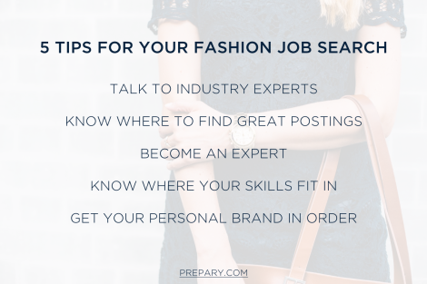 5 Tips - Fashion Job Search V2
