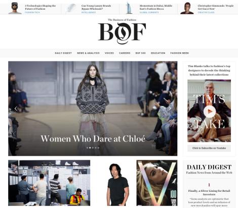 Fashion Job Search - Business of Fashion