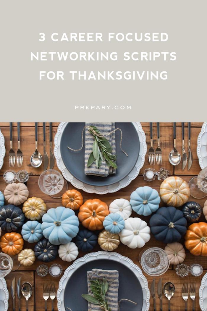 networking over thanksgiving break
