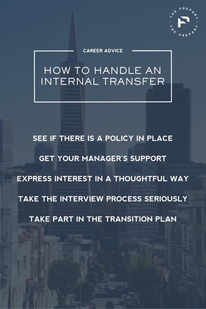 Pin - Internal Transfers
