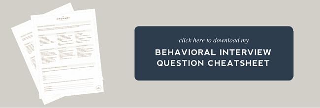 download behavioral cheatsheet