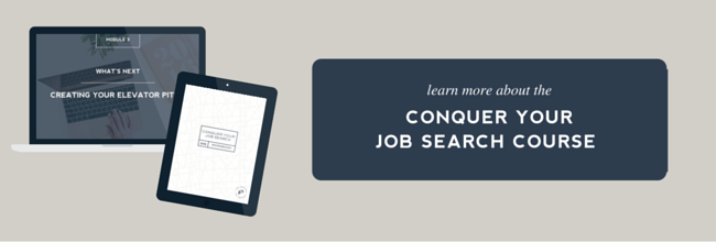Conquer Your Job Search Course